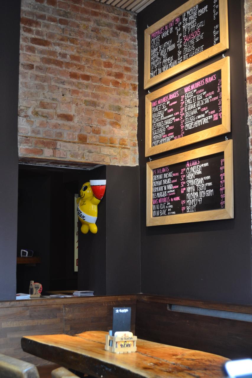 board menu wine boards bar moeder lambic beer brussels