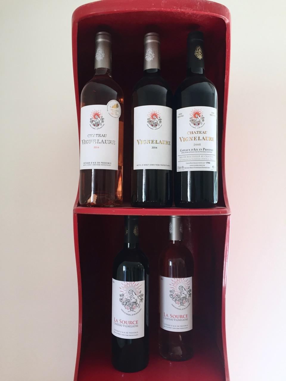 chateau vignelaure wine selection provence tour