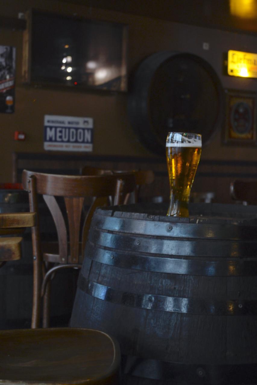 delirium beer on barrell brussels bar gastrogays