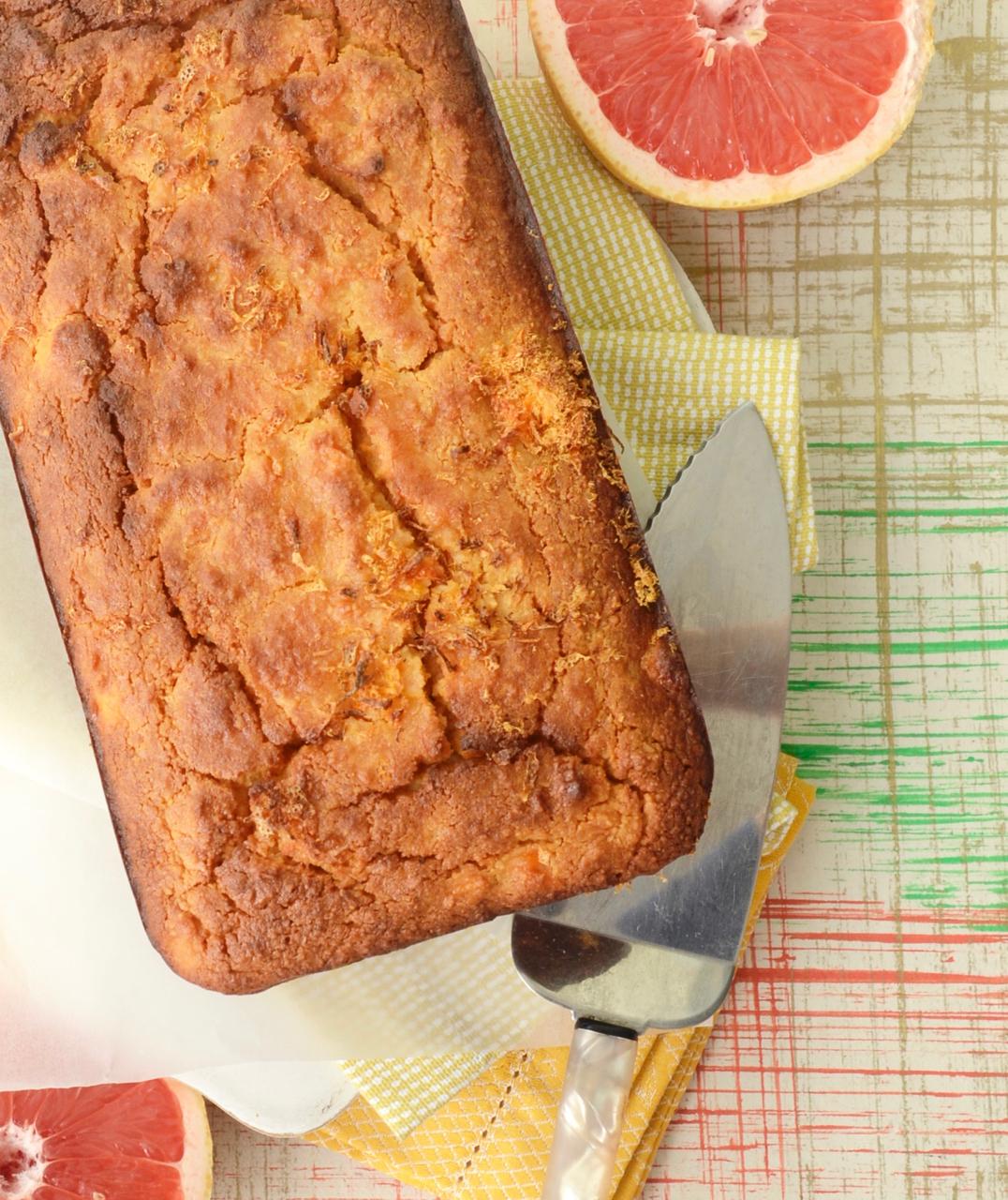 gf grapefruit loaf cake gastrogays cropped overhead