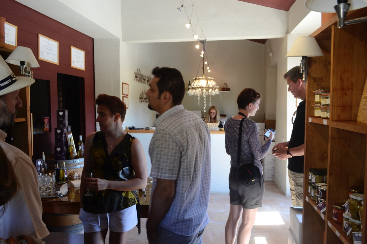 tasting chateau dorgonne provence wine tour