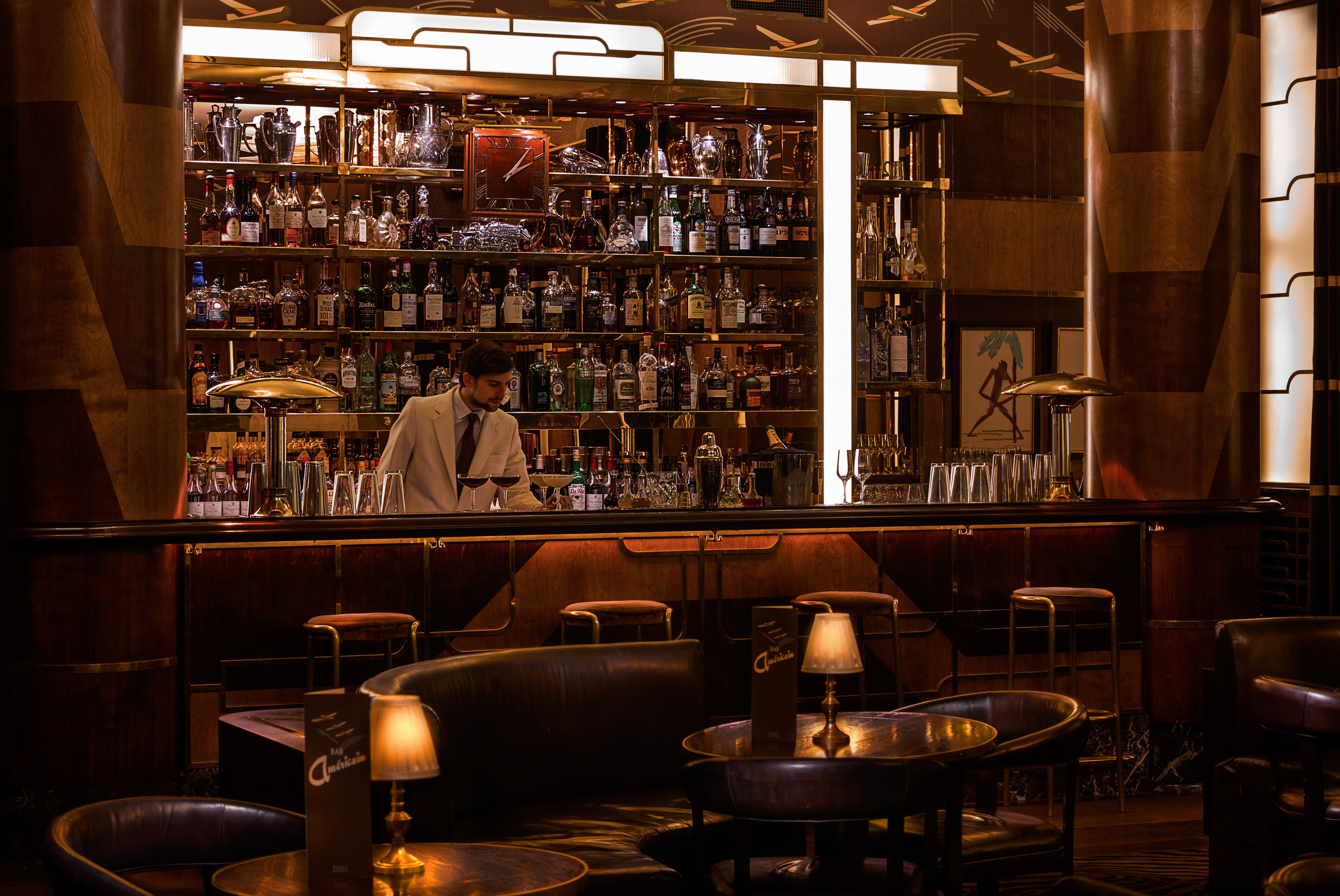 Bar Americain interior Nick Ingram
