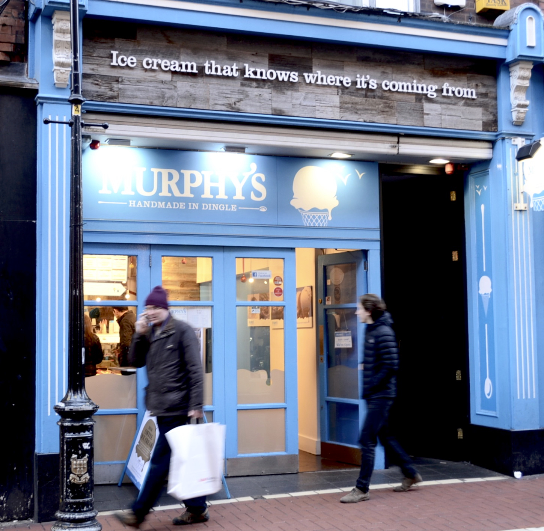 Murphys Ice Cream Exterior Wicklow Street Dublin Gastrogays