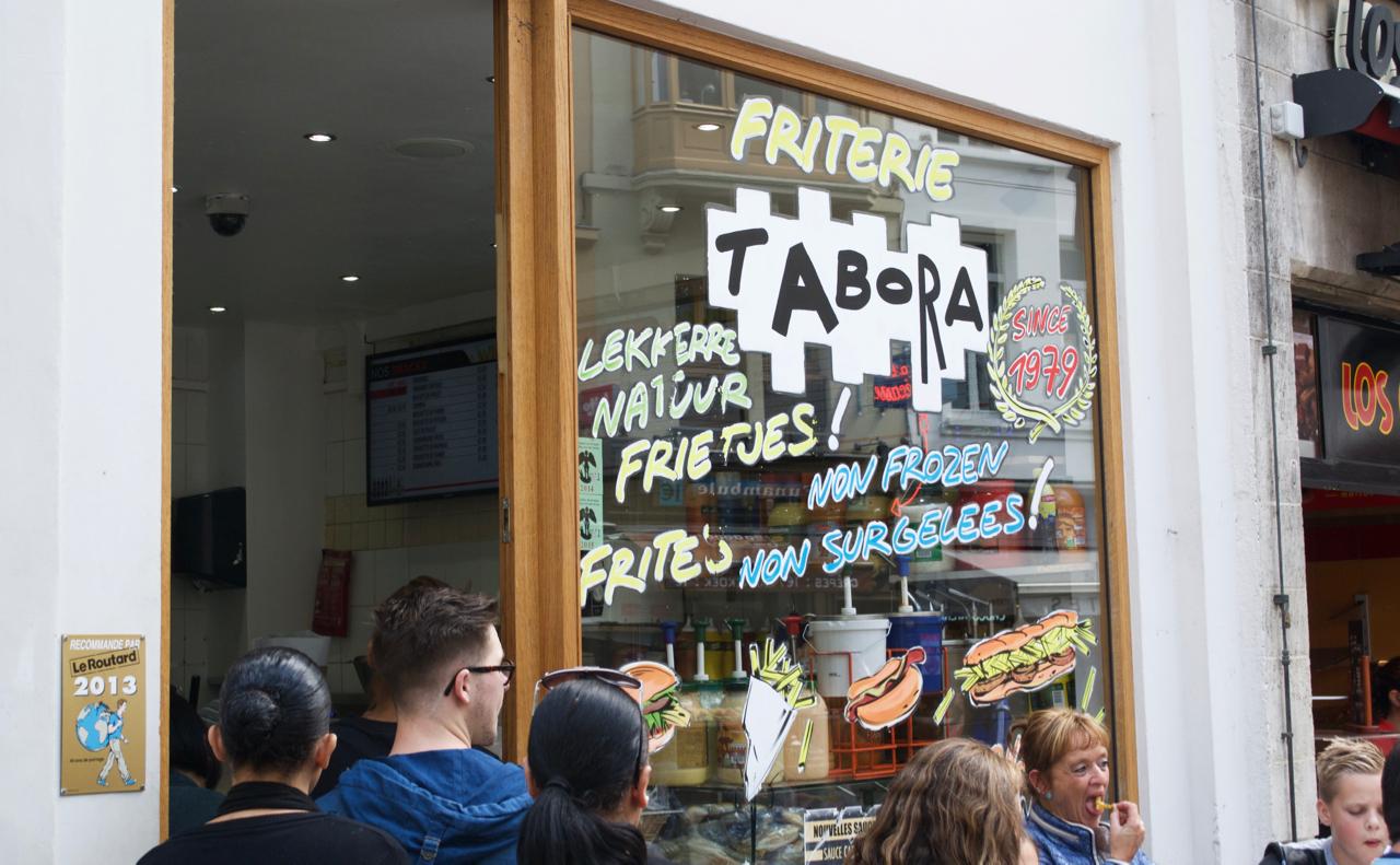 friterie tabora gastrogays brussels frites
