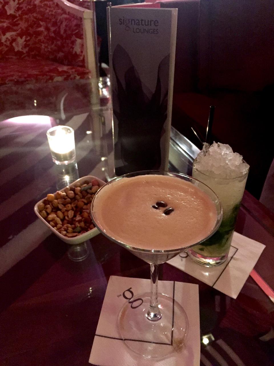 cocktails G Hotel Galway