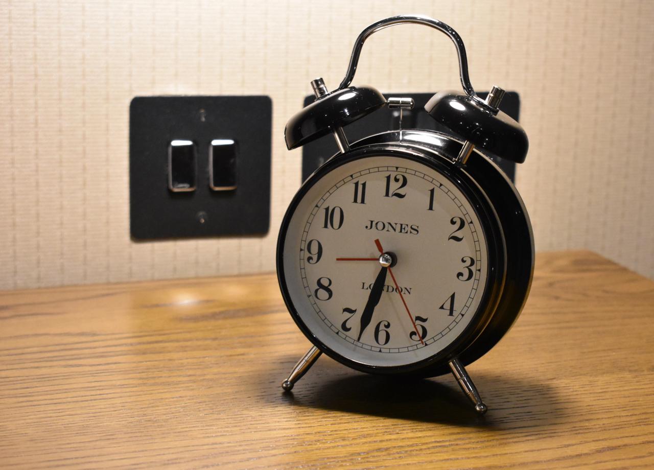Alarm clock Bishops Gate Hotel Derry