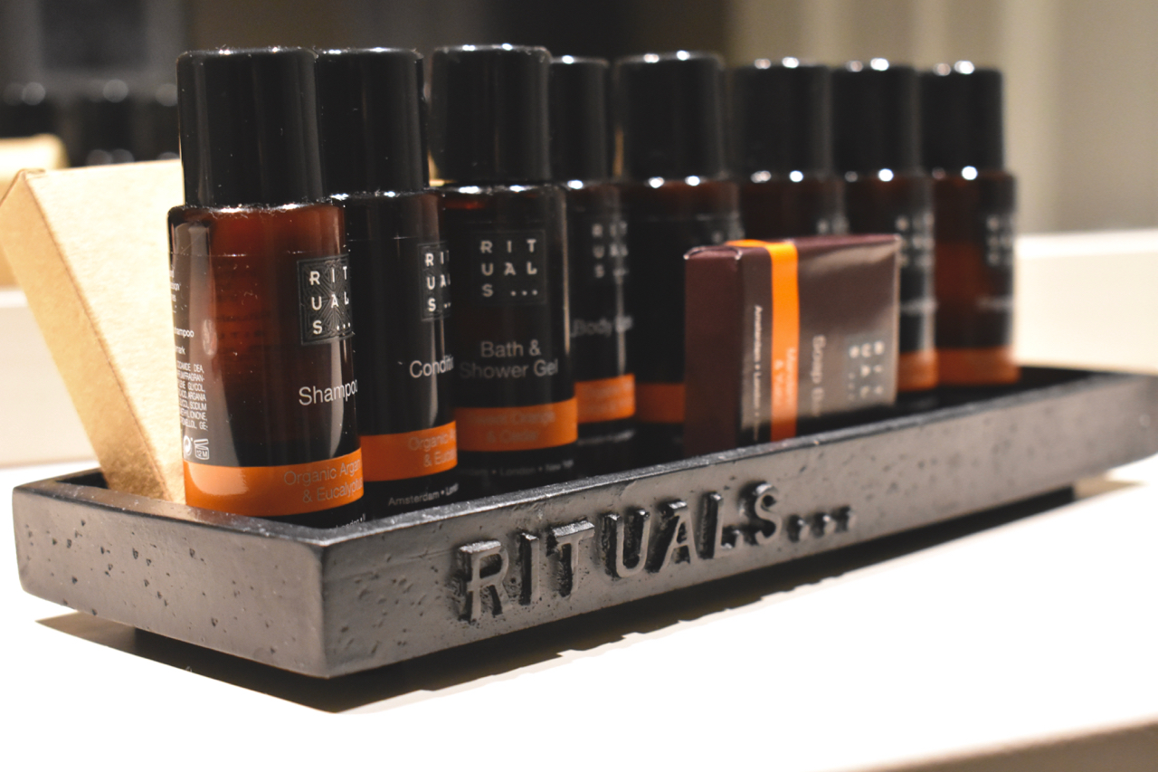 Rituals toiletries bishops gate hotel Derry