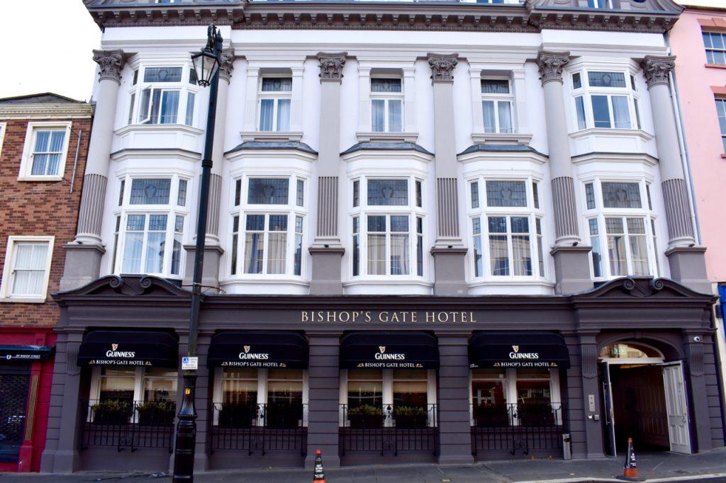 Bishop's Gate Hotel Derry, derry best hotel, derry city, derry-londonderry, derry weekend hotel, discover derry, gastrogays derry, hotels in derry, londonderry visit, short break derry hotel, visit derry hotel