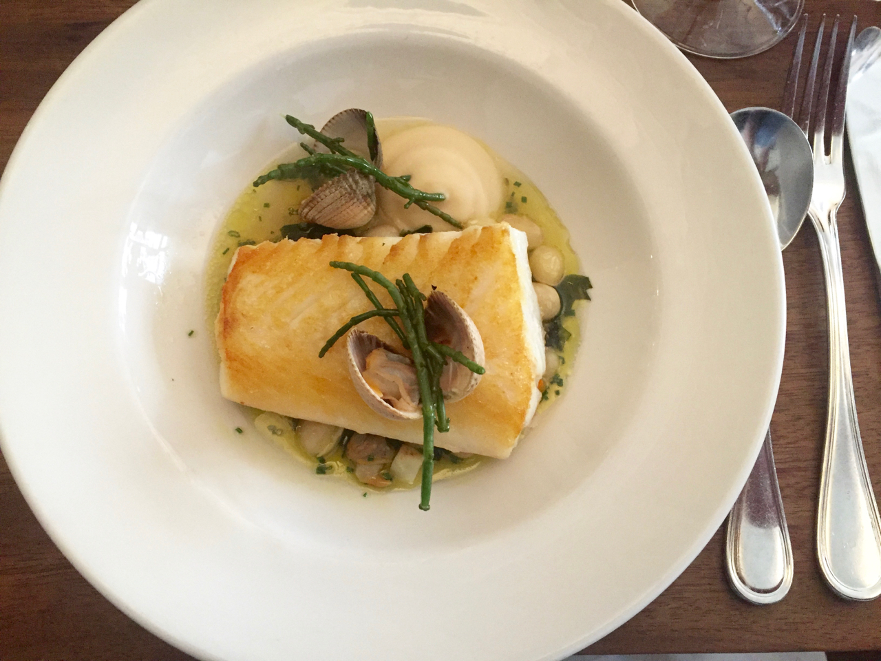 fish main hake clams broth etto dublin gastrogays