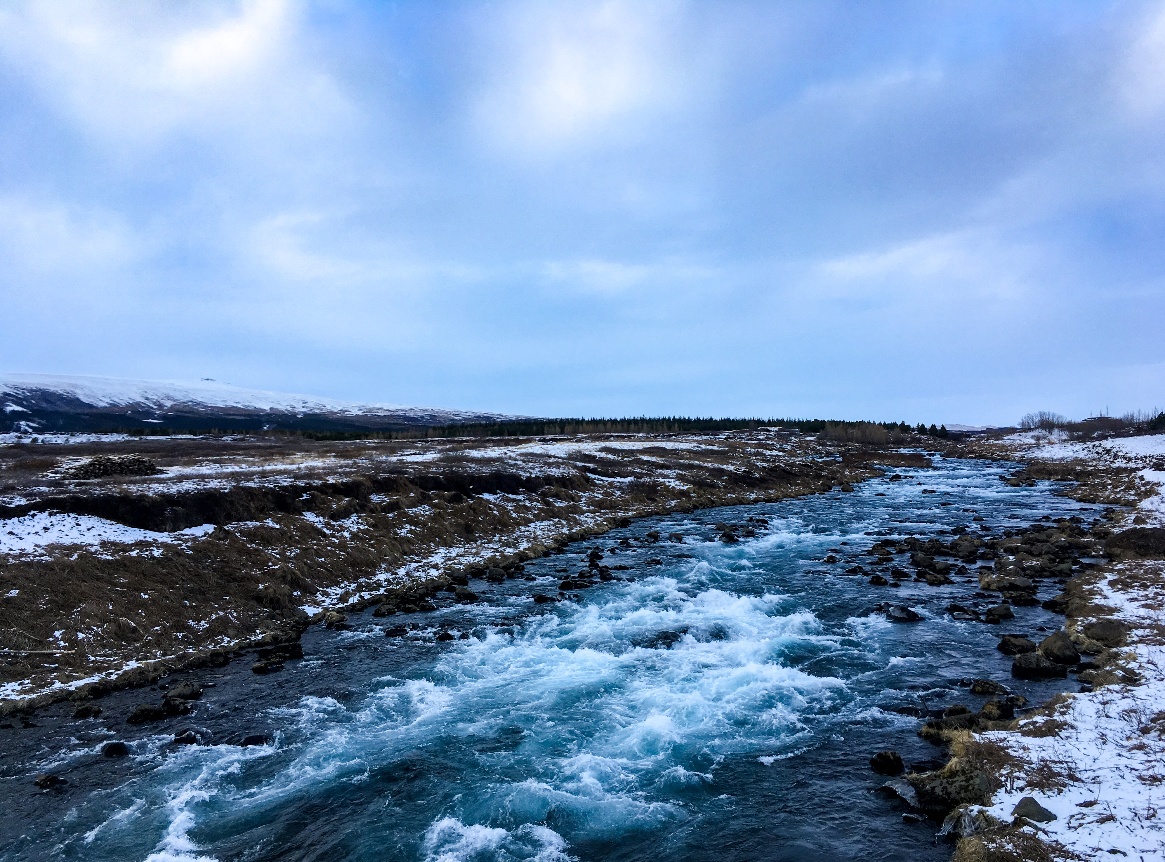iceland, scenery, river