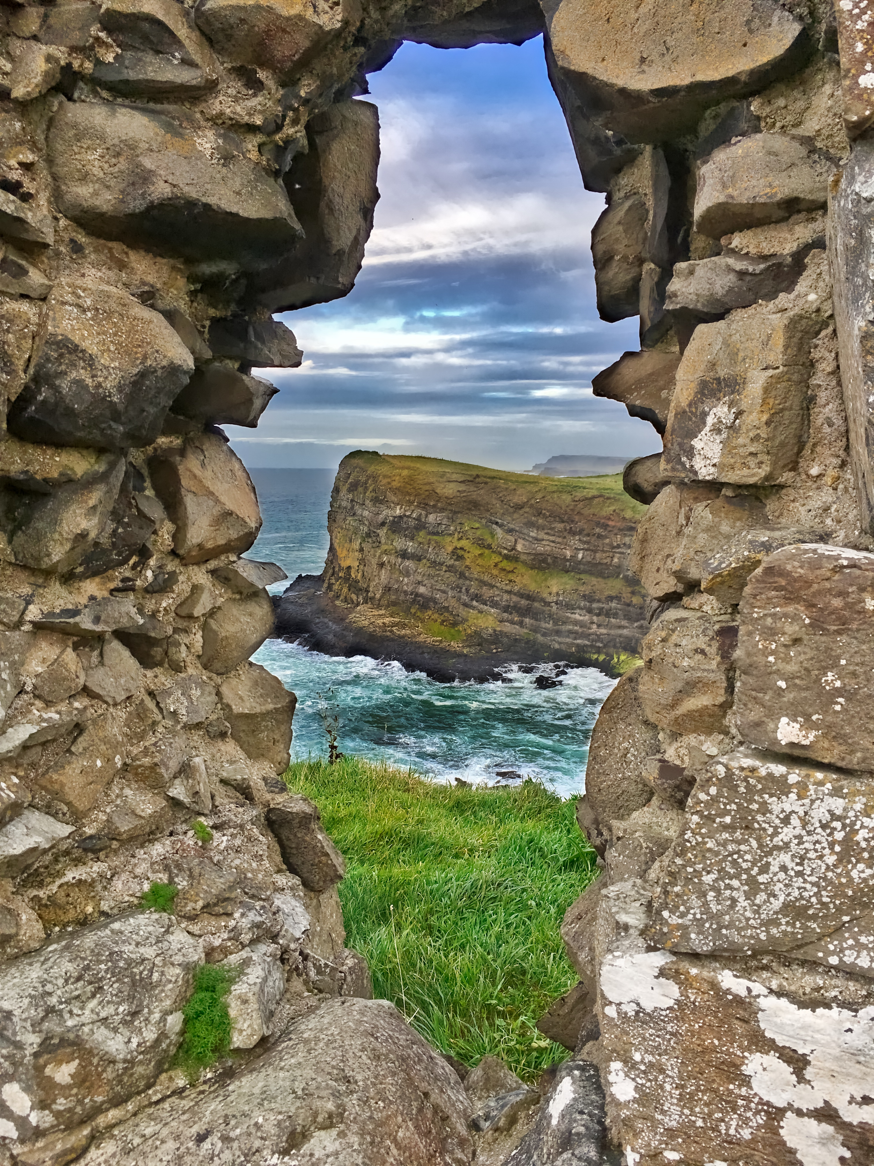dunluce castle, northern irealnd