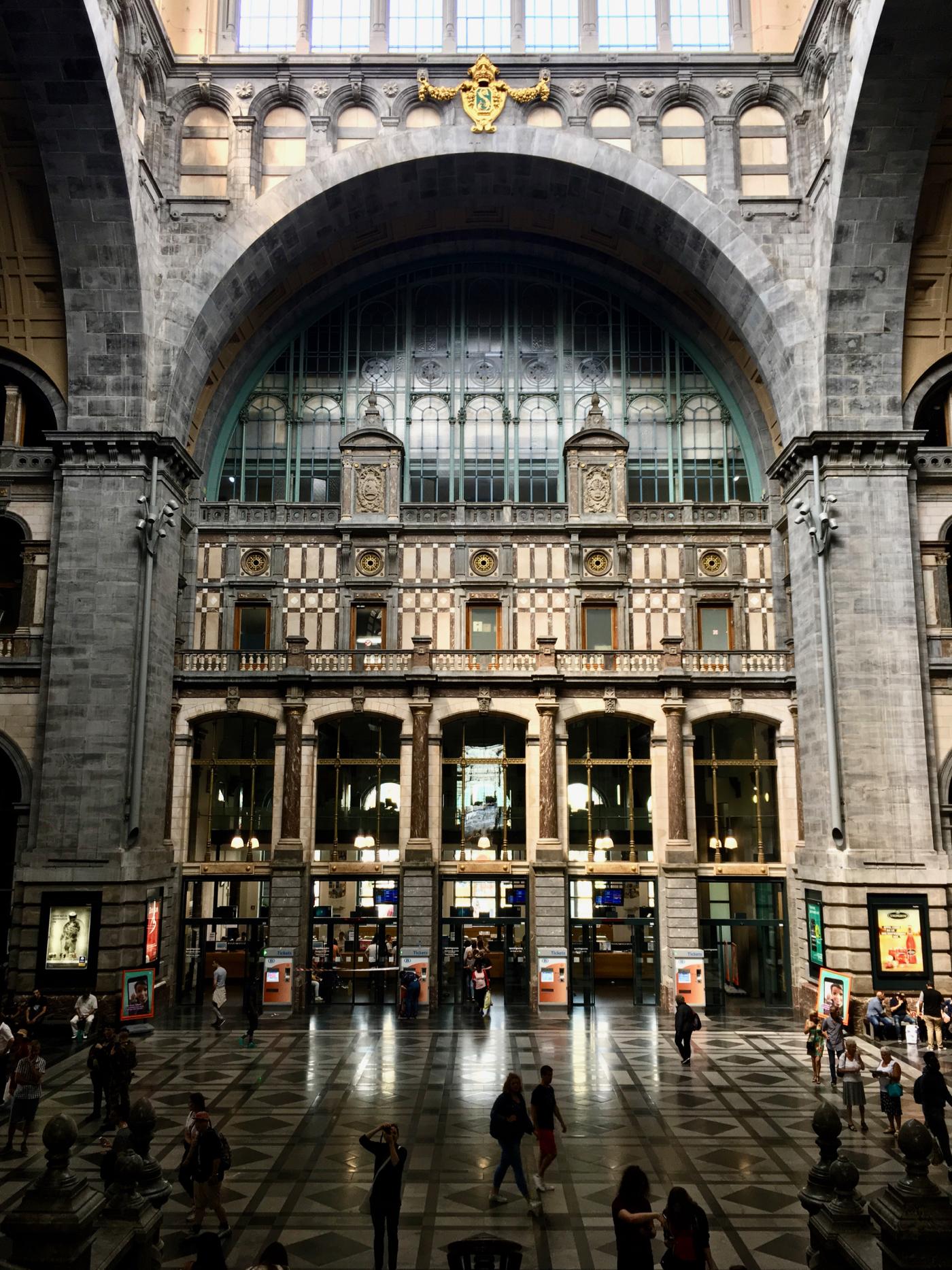 Antwerpen-Centraal, antwerp, train station, europe, belgium, belgian railways