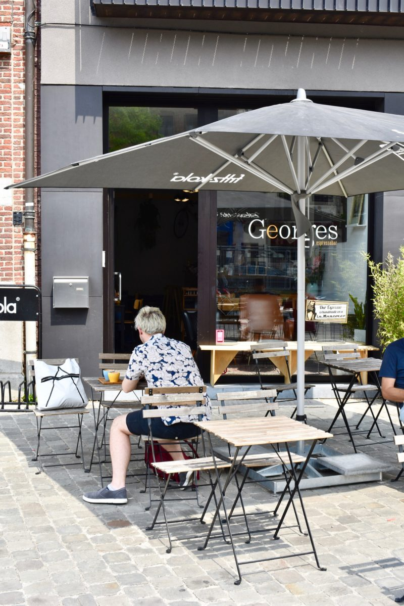 Georges espresso bar antwerpen russell gastrogays terrace for Food bar russell
