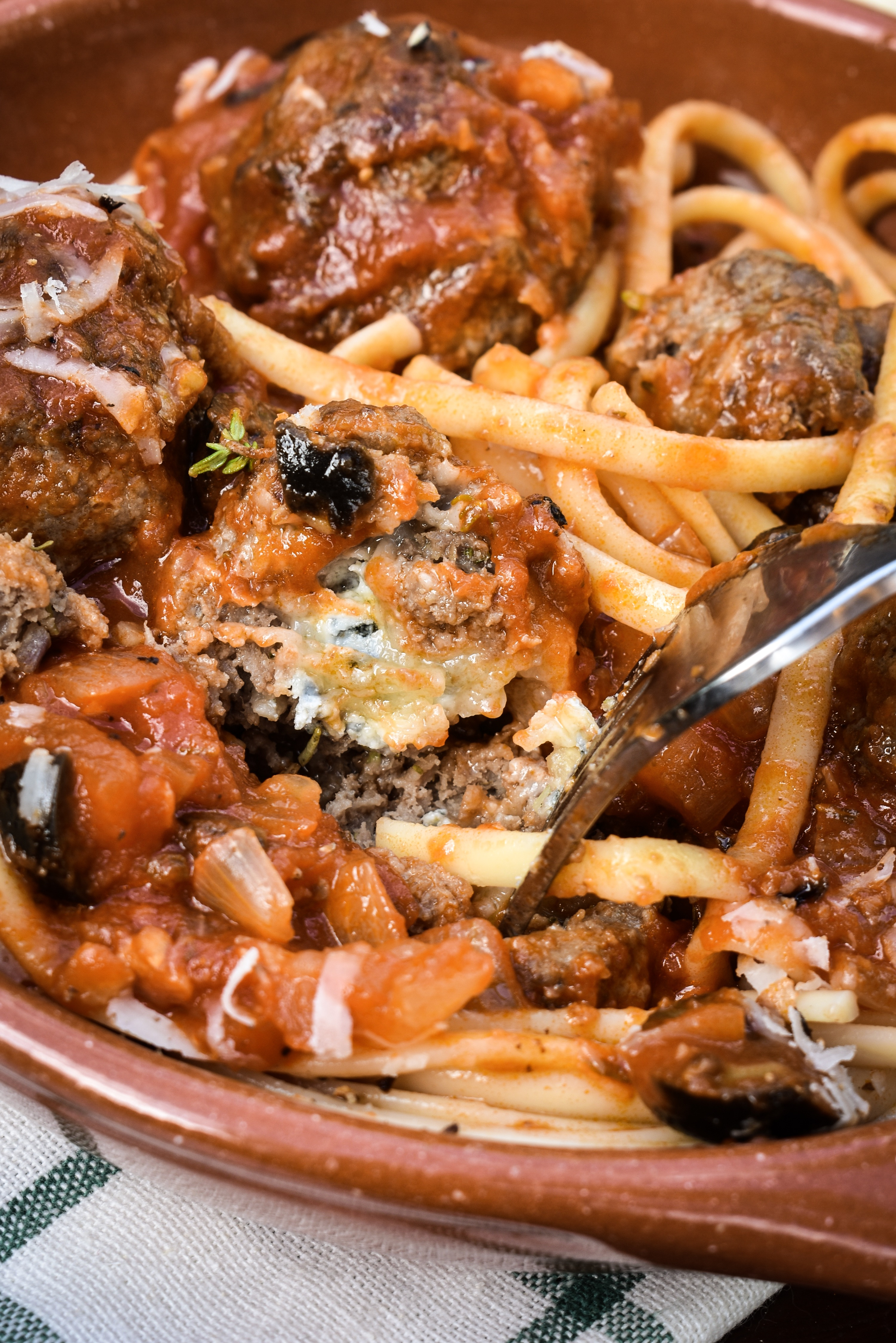 Meatball roulette gorgonzola meatballs gastrogays meatballs spaghetti meatballs recipes gorgonzola recipes forumfinder Image collections