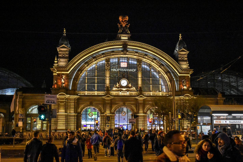 frankfurt Hauptbahnhof at night, frankfurt Hauptbahnhof, frankfurt hbf, frankfurt station