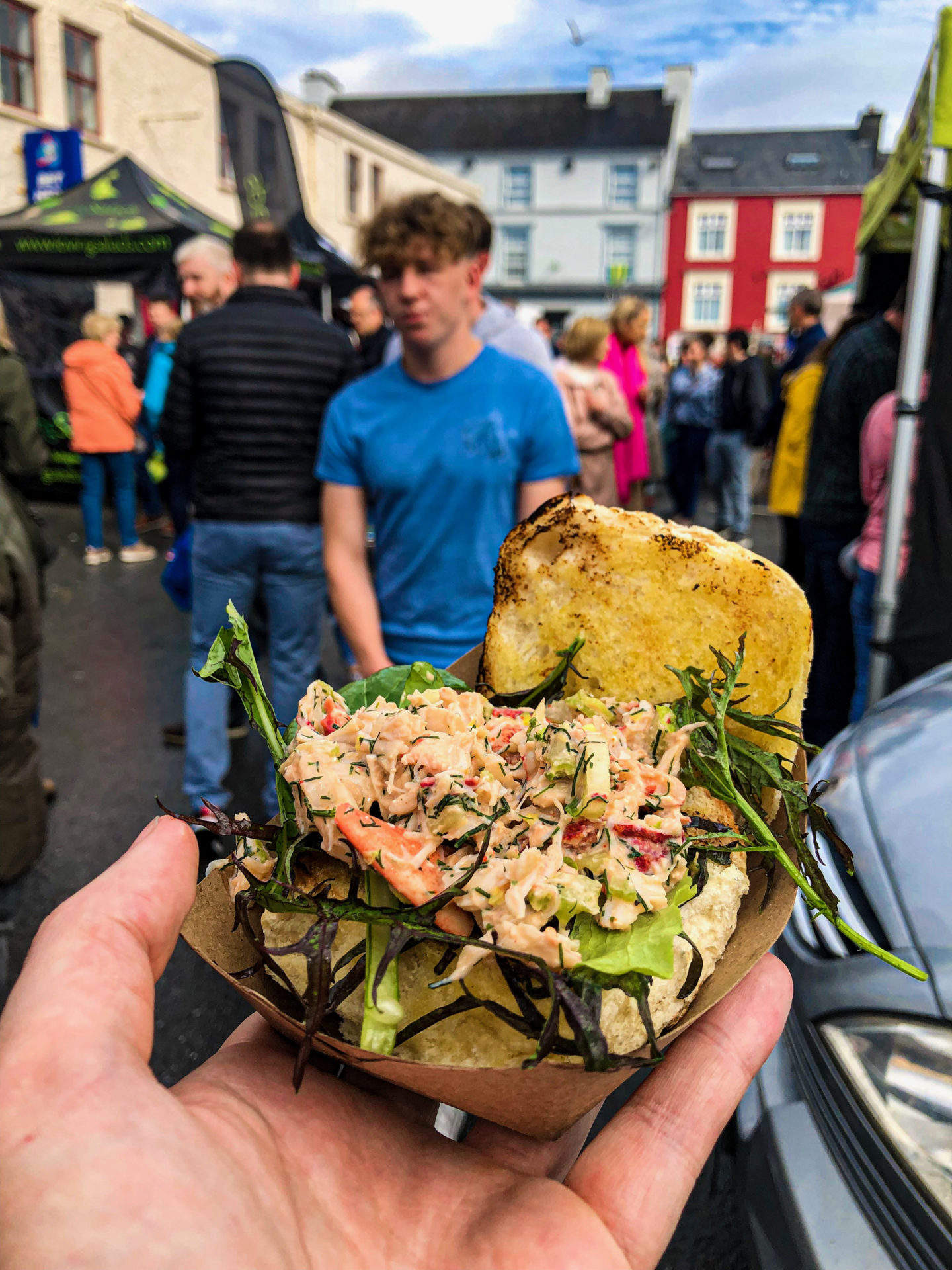 street food Ireland, food trucks ireland, ireland food, Irish food, julia hemingway, Julia's Lobster Truck, julias lobster truck, places to eat in the burren, the burren food, food trucks irish festivals, top street food Ireland, top food trucks Ireland, Julia's Lobster Truck Clare, Julia's lobster pop-up